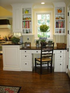 Great kitchen/office nook