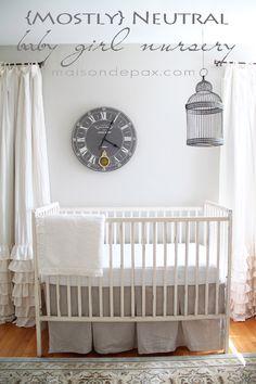 Source List for Classic White Kitchen - Maison de Pax Nursery Crib, Girl Nursery, Nursery Decor, Nursery Ideas, Girl Room, Room Ideas, Baby Boy Nurseries, Baby Cribs, Teaser