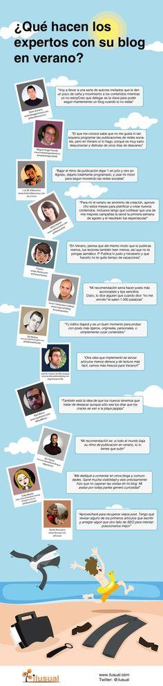 """""""Peleando con las TIC"""": ¿Qué hacen los expertos con su blog en verano?"""