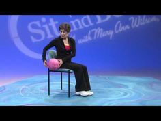 Sit and Be Fit - Episode 1213 Vestibular System - Mary Ann Wilson, RN - Balance - Complete Full Show Sitting Down Exercises, Exercise While Sitting, Chair Exercises, Balance Exercises, Stretches, Workout Videos, Exercise Workouts, Exercise Videos, Excercise