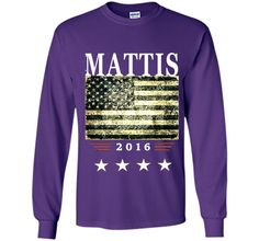 General James Mad Dog Mattis Secretary of Defense TShirt