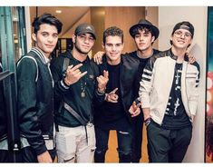 You've killed me with your beautiful faces, your talented vocals and your outstanding personalities 🖤 Big Love, Love Of My Life, Cnco Richard, Latin Music, Ricky Martin, Celebrity Outfits, Celebrity Crush, I Don T Know, Sweet Memories