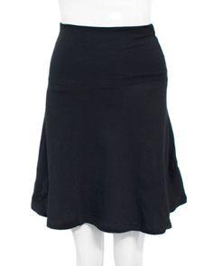 Black Ladies Mini Skirt Fold-able Waist $6.50