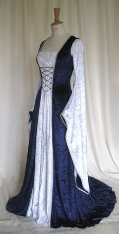 I would have loved this for music masters. Erin a Medieval Gothic Renaissance Larp Pagan by frockfollies, $217.00