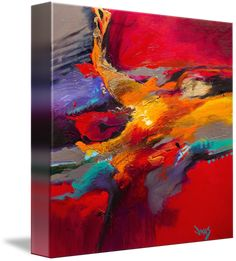 """Impulsively Correct II"" by Jonas Gerard, Asheville, NC // High quality giclée… Abstract Canvas, Canvas Art, Canvas Prints, Art Prints, Internet Art, Paintings I Love, Acrylic Art, Art Auction, Love Art"