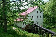 Mill on the Yadkin River, Stokes County, NC