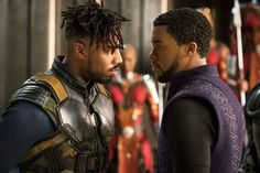 Chadwick Boseman is simply magnetic as T'Challa, the African king fighting evil in the guise of a wildcat.