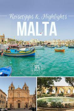 Malta Reisetipps: Alles Malta Sehenswürdigkeiten und Highlights für deinen Malta Urlaub in 5 Tagen. #reisetipps #malta #urlaub #kurzurlaub