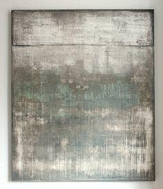 wall impressions No.16 -120 x 100 x 4 cm, mixed media on canvas - CHRISTIAN HETZEL