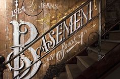 Lola Jeans Basement Speak Mural by Ashley Willerton