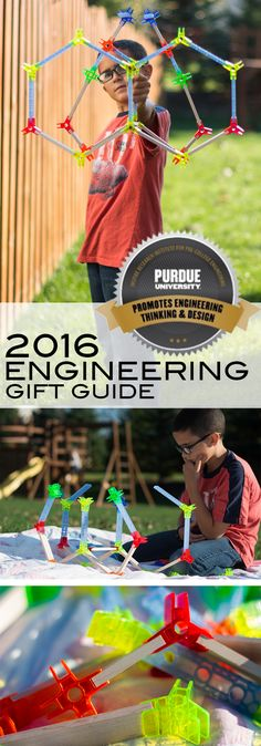 Brackitz™ Inventor 100 piece set is one of the many fun toys reviewed in the 2016 Purdue Engineering Gift Guide available now! Let's Talk Science, School Of Engineering, Christmas Gift Guide, Engineers, Cool Toys, Grandkids, Kids Room, Best Gifts, Crafts For Kids