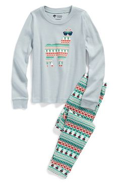 Tucker+++Tate+Two-Piece+Fitted+Pajamas+(Little+Girls+&+Big+Girls)+available+at+#Nordstrom
