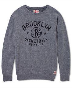 Sportiqe NBA Sweatshirt, Brooklyn Nets Graphic Sweatshirt - Mens Sports Fan Shop - Macy's