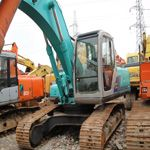 For construction work, Kobelco SK 60 is very useful. It has many features and functions with a good conditio...