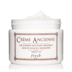Fresh Crème Ancienne Fresh Crème Ancienne Crème Ancienne is dense and almost wax-like—great for ultra-chapped skin or even dry cuticles. It sold out within the first three months of launch