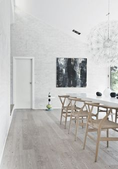 Modern minimalist dining room interior design - Interior Design   Exterior Design   Office Design   Home Design