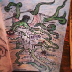N'EYE'T'MARE Artist - The Griz Medium - pencil on paper