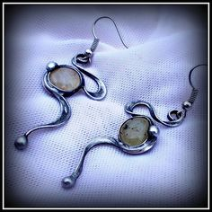 Prehnite earring / SOLD /