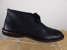 JOHN VARVATOS Star USA Hipster Black Goat Skin Ankle Chukka Boot Men 10.5 M $198 #JohnVarvatos #ChukkaBoots