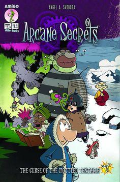 Arcane Secrets #2 (of 3) #Amigo #ArcaneSecrets (Cover Artist: Angel A. Svoboda) On Sale: 10/30/2013