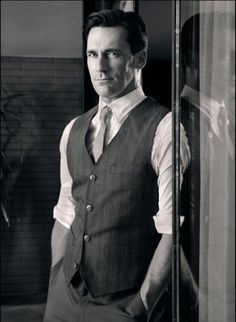 It's inevitable that I will be pinning many Mad Men pictures. Here's Jon Hamm being Jon Hamm.