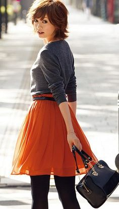 Waist Skirt, High Waisted Skirt, Stocking Tights, Nice Legs, Beauty Hacks, Beauty Tips, Stockings, Female, Trending Outfits