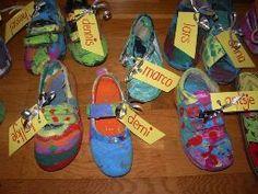 Platvoetjes schoen