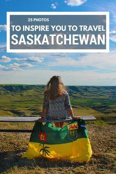25 photos to inspire you to travel Saskatchewan, Canada. Pvt Canada, Visit Canada, Calgary, Rocky Mountains, British Columbia, Cross Canada Road Trip, Canada Trip, Places To Travel, Places To See