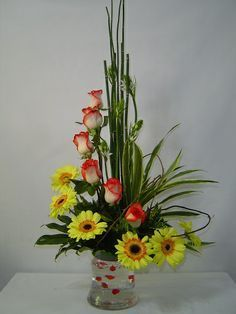 Resultado de imagen para arreglos florales modernos