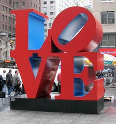 Use Your Coloured Pencils: Robert Indiana Valentine's Day