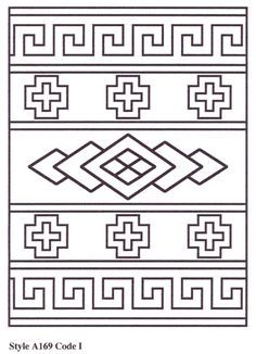 Aztec and Southwestern Designs Native American Patterns, Native American Symbols, Native American Beadwork, Native American Design, Leather Tooling Patterns, Leather Pattern, Navajo Weaving, Tapestry Weaving, Tribal Patterns