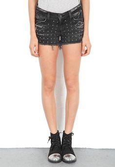Siwy Denim Alia Classic Pocket Cut-Off Shorts in Renegade  $185
