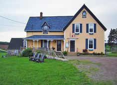 Shipwright's Café. Pulling into the laneway of this farm-to-table restaurant feels like coming home: the kitchen is nestled in a historic farmhouse amongst rolling hills and pastures, and the dining tables are strategically placed throughout the house – even in the cozy bedrooms upstairs! Give yourself plenty of time to explore the restaurant's on-site farm and organic gardens. Must-try: Shipwright's Pasta, $24.95. 11869 Route 6, Margate, PEI.