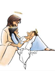 Jesus Tattoo, Catholic Art, Religious Art, Bible Verses About Prayer, Nativity Silhouette, I Love You God, Spiritual Images, Christian Artwork, Holy Mary