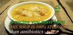 The numerous healing properties of this remarkable soup can help you with colds, ear infections, flu and other health conditions.The three main ingredients for its preparation are: red onion, garlic and thyme. The latest study from the University of Washington has found garlic to be 100 times more powerful than the most commonly prescribed conventional […]