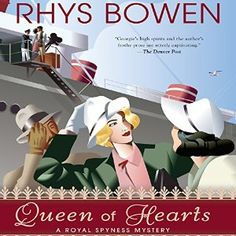 Queen of Hearts Written by: Rhys Bowen  Narrated by: Katherine Kellgren  Length: 9 hrs and 40 mins   Series: Royal Spyness, Book 8  #Audiblereads