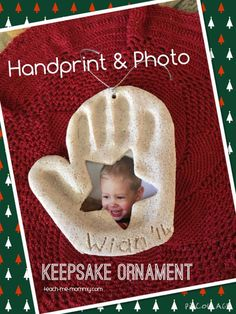 So each year I want to add a photo to our Christmas tree ornaments AND a keepsake too, so this year I combined the two: making a handprint AND photo keepsake ornament! I used salt dough(after a failed attempt at white baking soda clay, rather don't ask!) That is equal amounts of salt and flour(all …