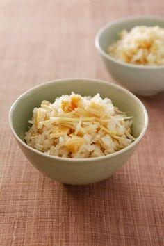 しょうがの混ぜご飯 | 植松良枝さんのレシピ【オレンジページnet】プロ ...
