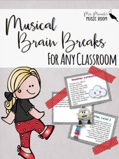Looking for fun, musical brain breaks for your classroom? This is a collection of 50 different brain breaks that can be used in any classroom--whether you are a classroom or music teacher!