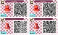 Flora from Professor Layton Animal Crossing New Leaf QR Code