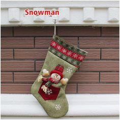 Christmas Sock Santa Claus Snowman Xmas Decoration Tree Snowflake Ornament Green Snowman >>> Check out the image by visiting the link. Lego Table With Storage, Lego Storage, Christmas Stockings, Christmas Gifts, Christmas Sock, Christmas Ornaments, Snowflake Ornaments, Snowflakes, Santa Socks