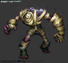 Darksiders II Monster 5 (mummy) by CorruptedDeath.deviantart.com on @deviantART
