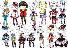 -80pts for 9- Adopt an Outfit by Guppie-Adopts.deviantart.com on @deviantART