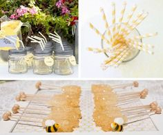 Bee decoration for baptism