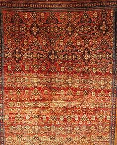 Meymeh,Persien ca 207 x 143 cm. Flor Wolle.