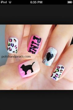 Cute Way To Do Your Nails Pink Nail Art