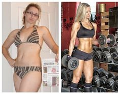 """Before Stats:  Age 33   Weight 128 lbs   Body Fat 36.6%   Height 5'1""""  After Stats:   Age 34   Weight 109lbs   Body Fat 8%"""