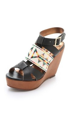 Twelfth St. by Cynthia Vincent Lakota Wedge Sandals - Shopbop $314.57