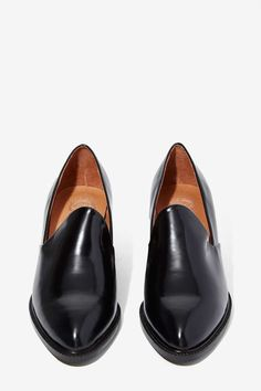 Jeffrey Campbell Serling Leather Loafers - Shoes | Jeffrey Campbell