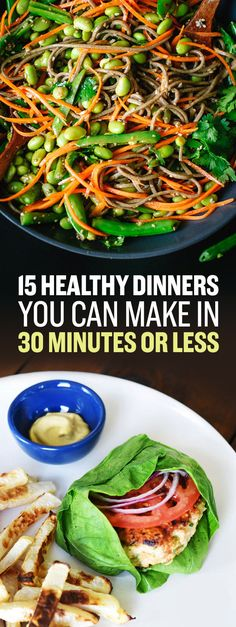 15 Easy Healthy Dinners You Can Make In 30 Minutes Or Less